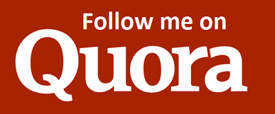 Follow me on Quora