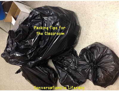 How to pack up your classroom to make unpacking easier
