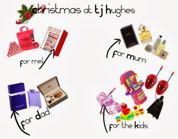 Christmas Shopping TJ Hughes