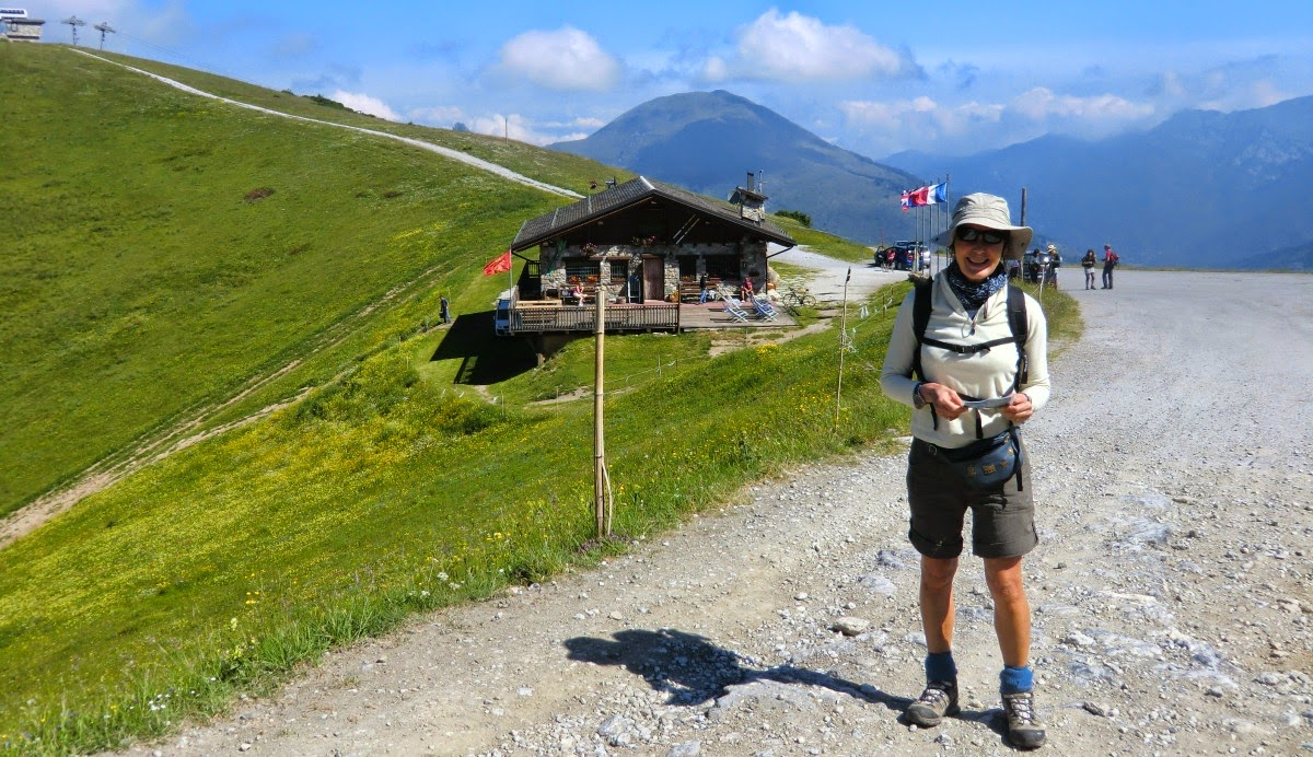Starting point at Chalet de Marmotte