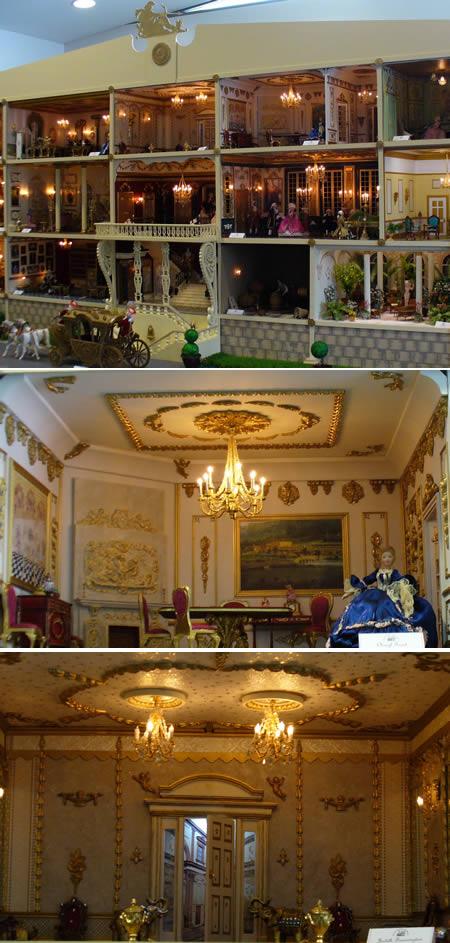 rumah miniatur klasik