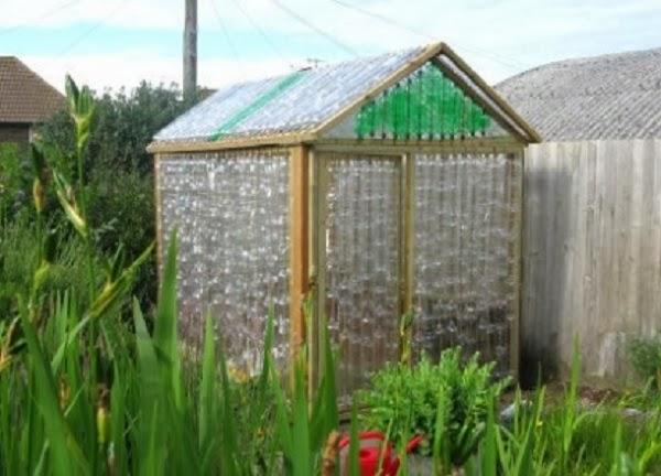 C mo hacer un invernadero casero de botellas de pl stico invernadero casero aprende como se hace - Fabricar un invernadero ...