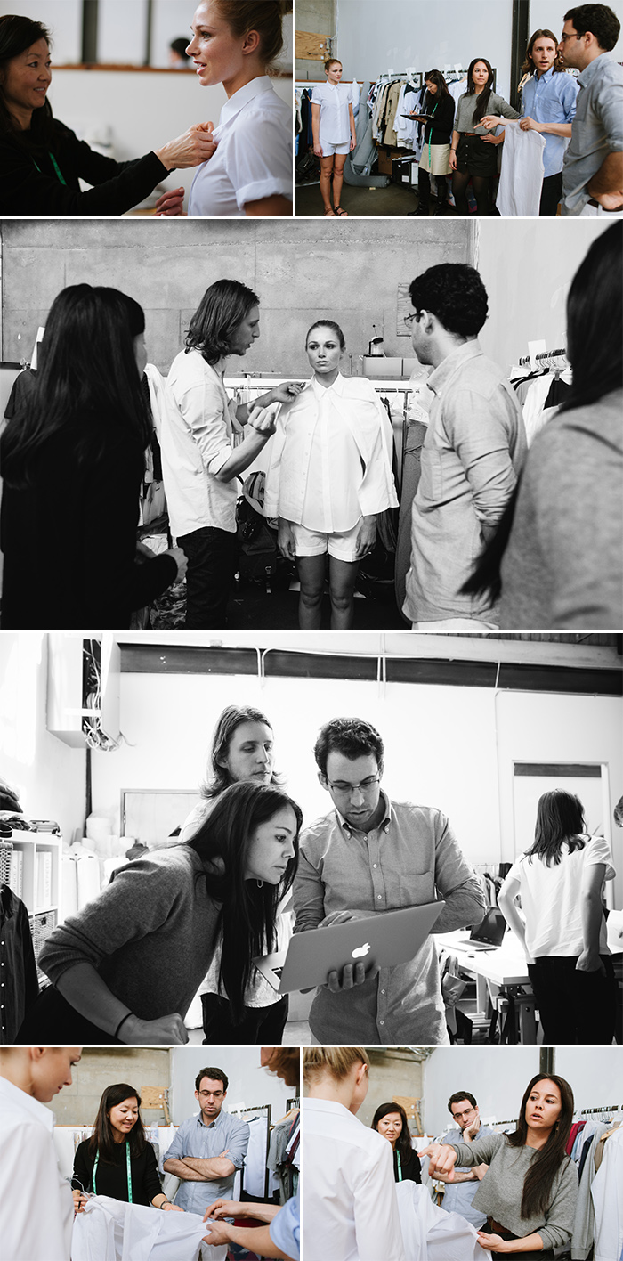everlane behind the scenes production office