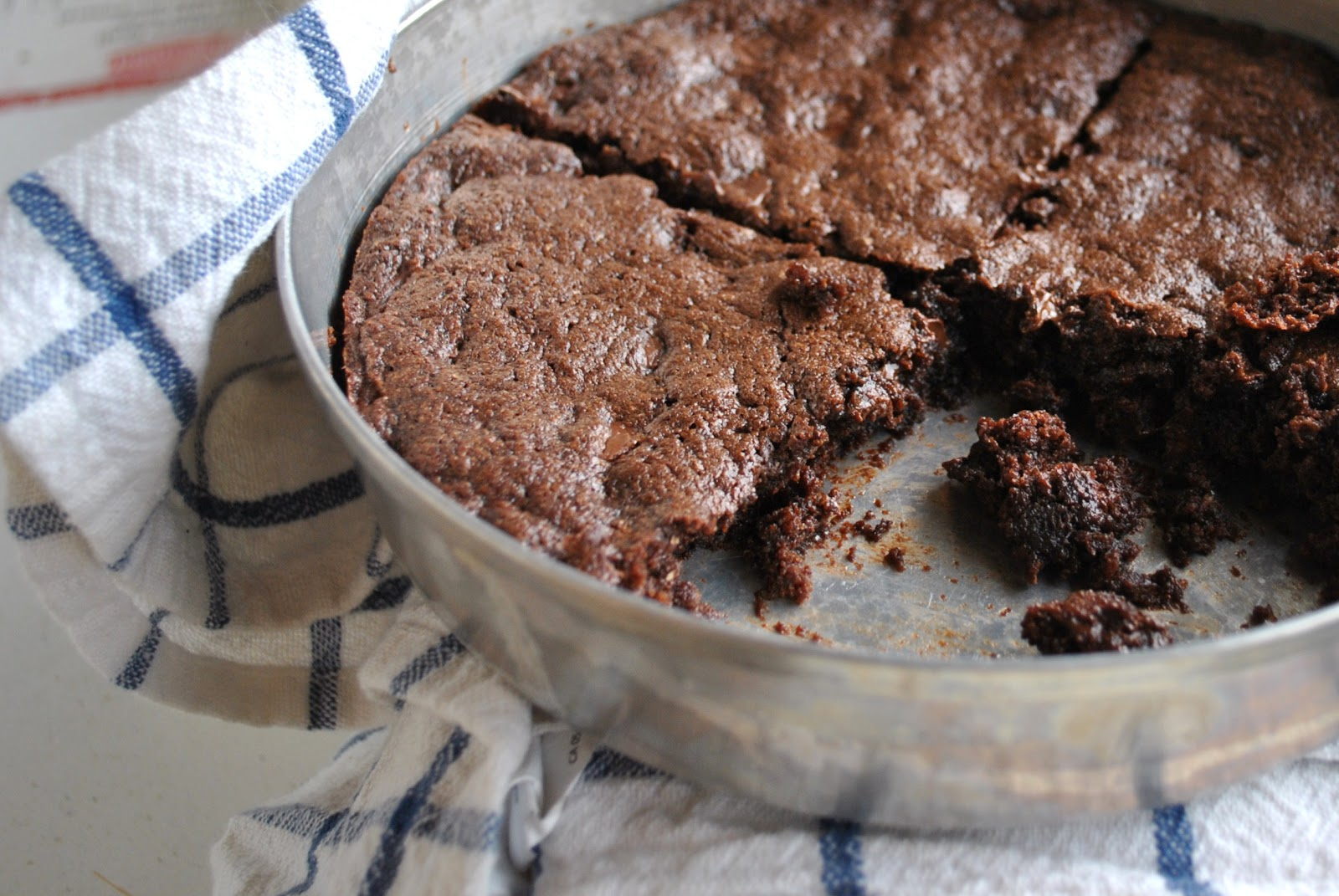 Kristin in Her Kitchen: Homemade Cocoa Brownies
