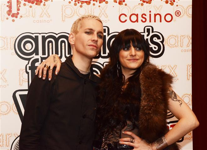Andy Biersack And Juliet Simms Engaged 2014