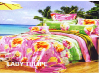 Beli grosir sprei Star Collection Motif Lady Tulipe di BediBedi aja