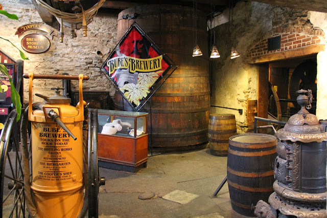 The interior or Bube's Brewery in Mount Joy, PA