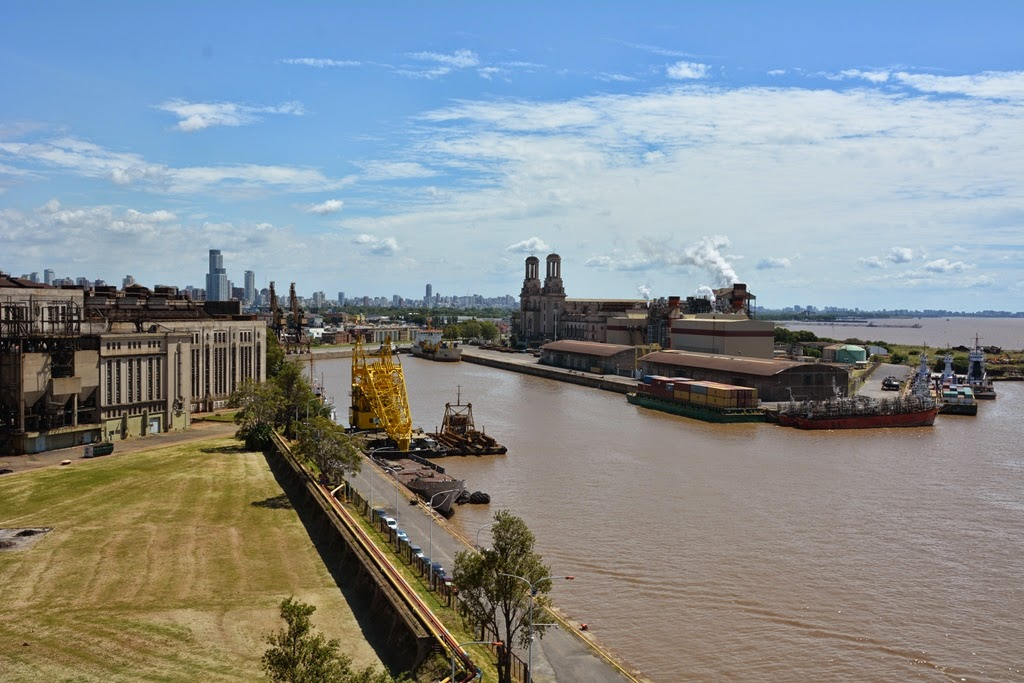 Port of Buenos Aires factory
