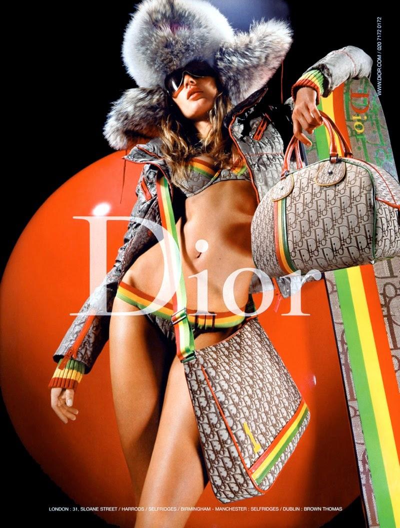 Gisele Bündchen Dior fall 2004 campaign