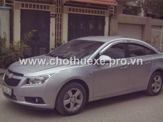 Cho thuê xe du lịch Chevrolet Cruze 4 chỗ