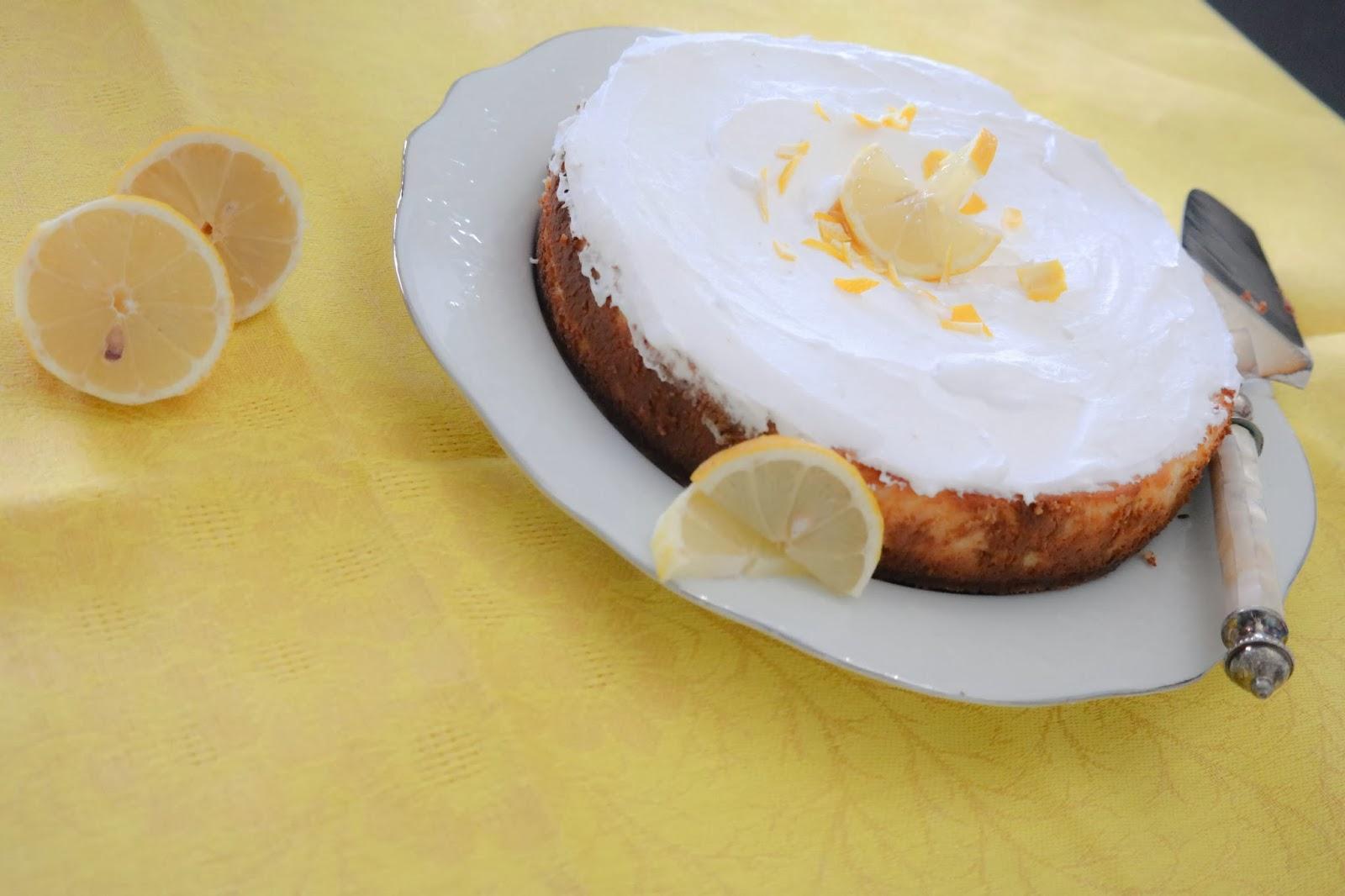 re- cake  classic lemon cheescake