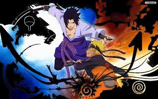 Naruto vs Sasuke wallpaper keren