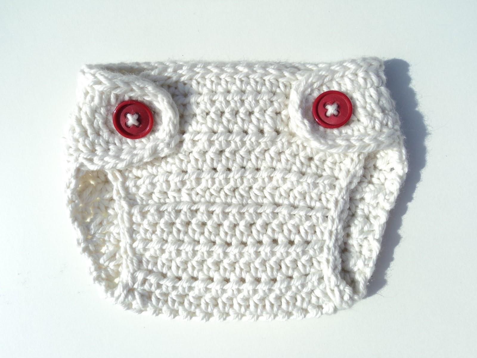 Encantador Patrón De Crochet Cubierta De Pañales Gratis Colección ...