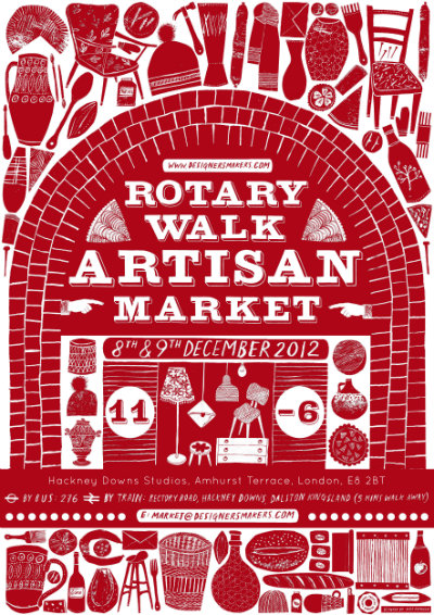 Rotary Walk Artisan Market flyer