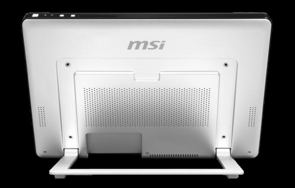задняя сторона и ножка моноблока MSI AP16 Flex