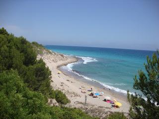 Platja del Torn nudist beach people - L´Hospitalet de L'Infant
