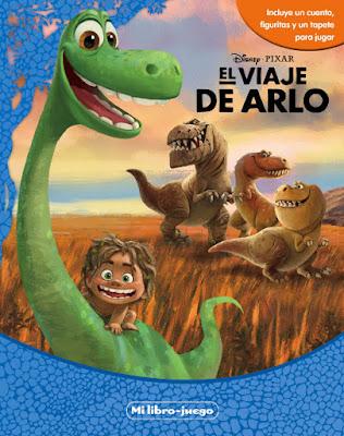 LIBRO - DISNEY El viaje de Arlo . Mi libro-juego  (Disney - 27 octubre 2015) A partir de 3 años  INFANTIL | The Good Dinosaur |  Libro de la nueva Película de Disney | Comprar en Amazon