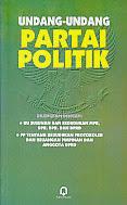 toko buku rahma: buku UU partai politik, penerbit pustaka pelajar