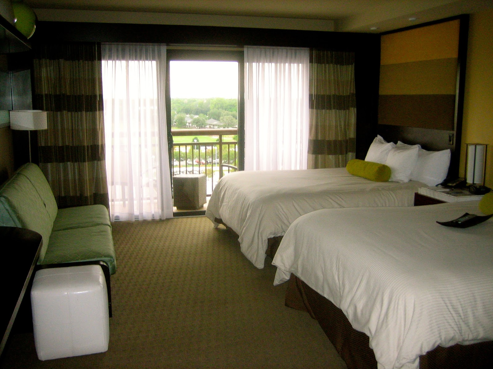 Disney Contemporary Resort Room