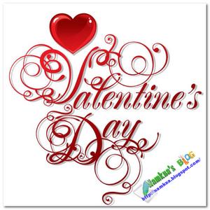 Trang trí blog ngày Valentine's day (14/2)