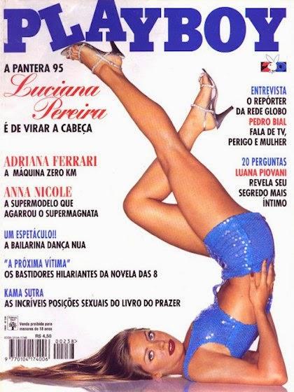 Luciana Pereira pelada
