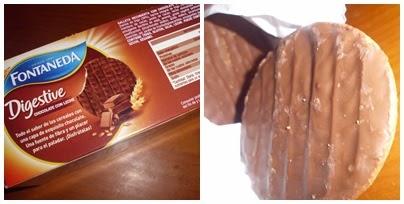 Fontaneda Digestive Chocolate con leche