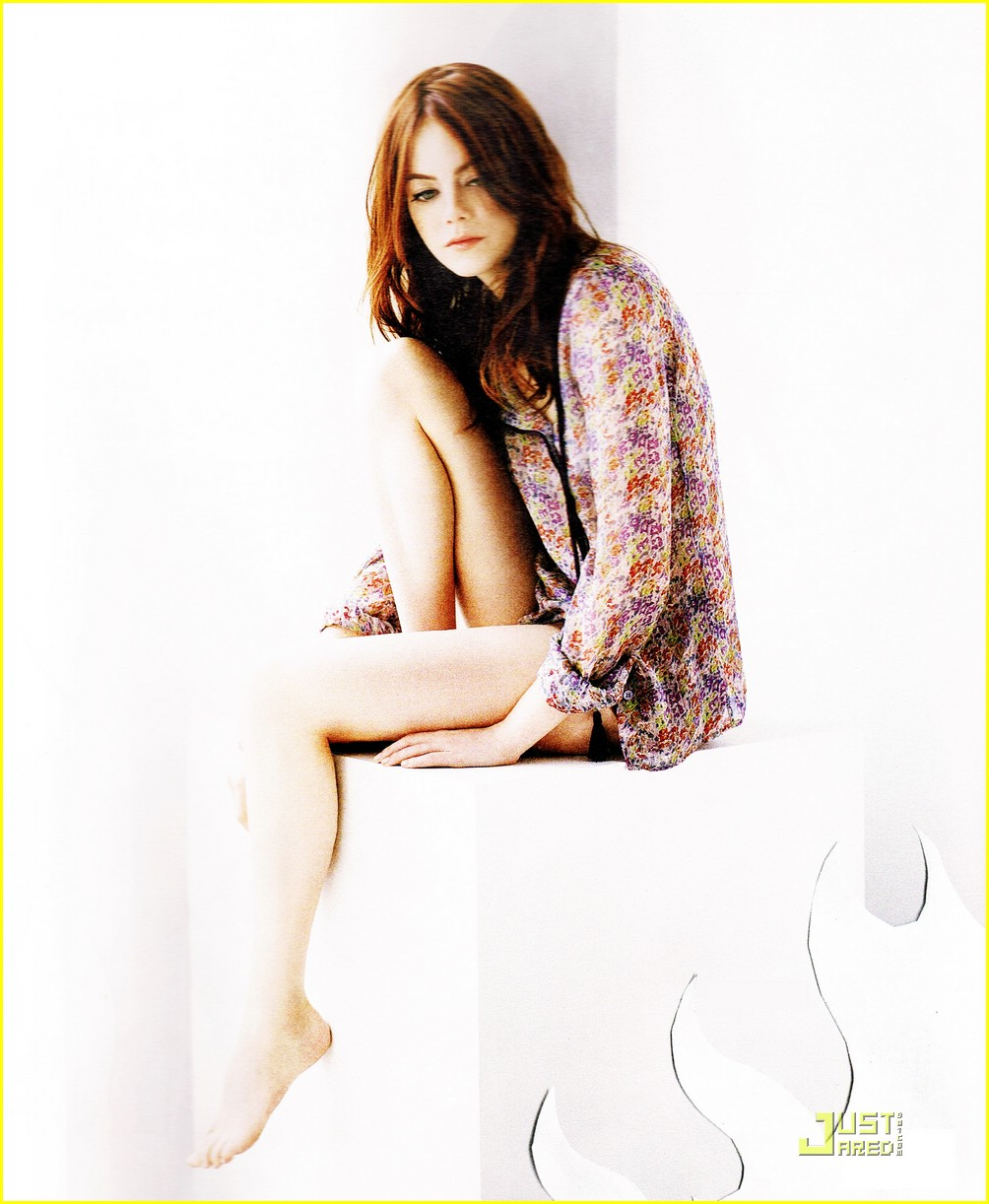 Emma Stone: Hot Emma Stone Photoshoot