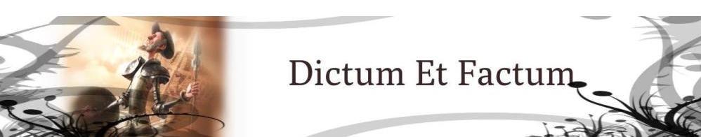 Dictum Et Factum