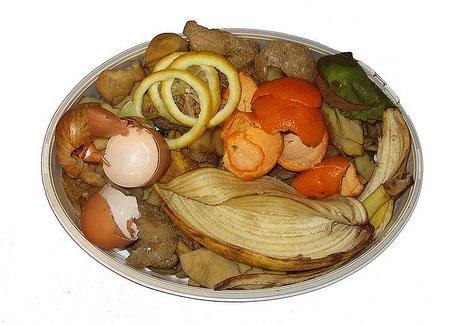 Residuos habituales en las cocinas de las viviendas
