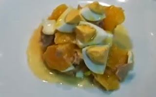 Ensalada Saludable con Naranja