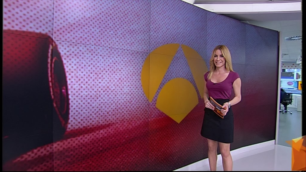 AINHOA ARBIZU, ANTENA 3 DEPORTES (17.01.14)