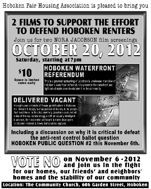 Delivered Vacant Hoboken Screening