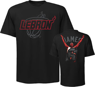 Big and Tall Lebron James Notorious T-Shirt