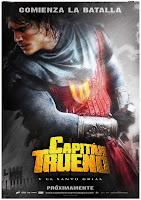 cartel el capitán trueno y el santo <span class=