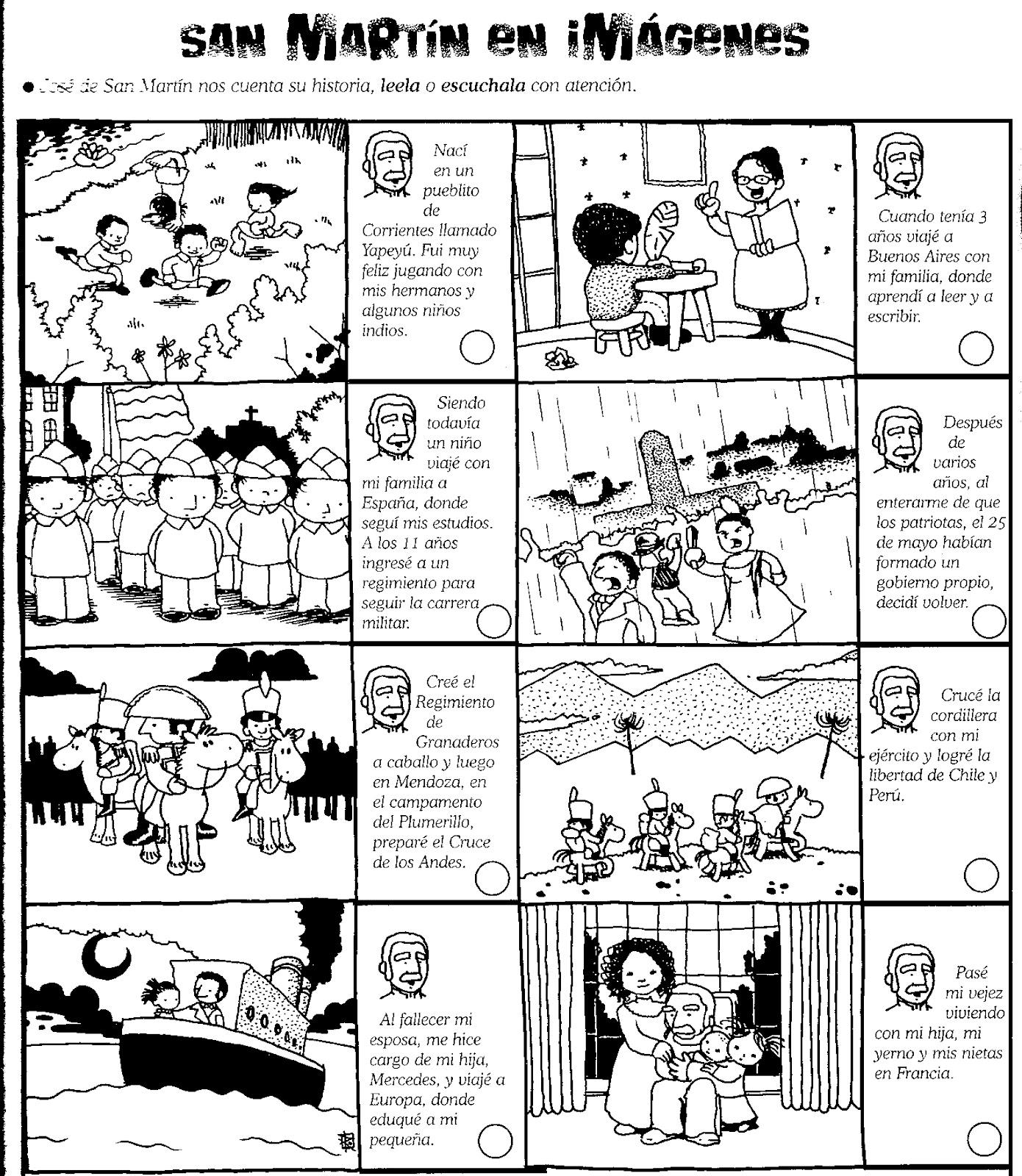 Historia De Jose Para Colorear