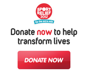 Sports Relief donate now