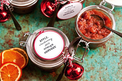 Apple, cranberry and orange chutney Recipe