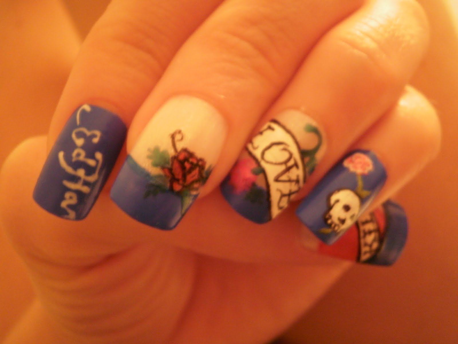 Crazy About Nails: A passion for Ed Hardy