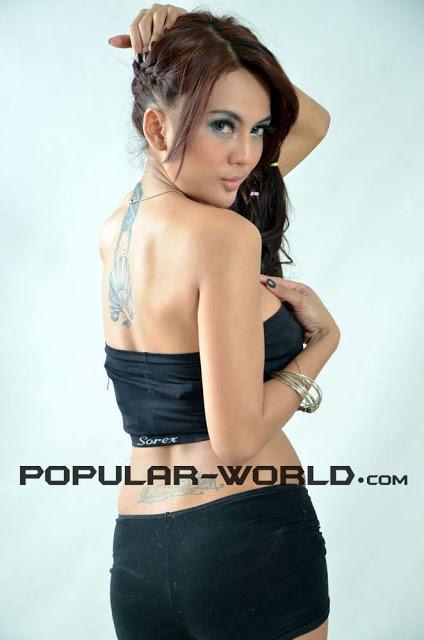 Foto Seksi Anggita Sari Majalah Popular