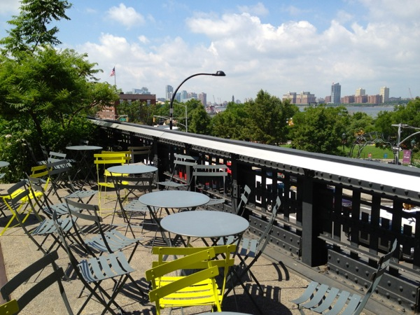 Now This Life - High Line - New York City - Cafe Tables