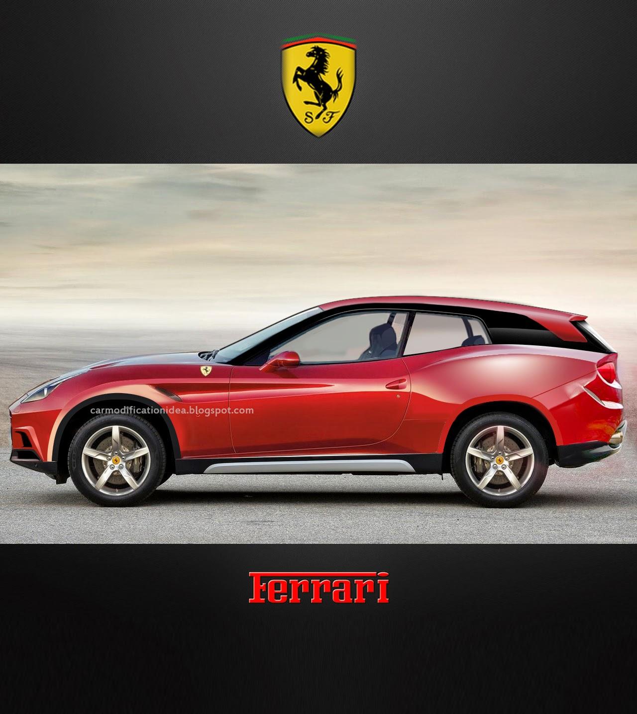 Ferrari SUV | Car Modification Idea