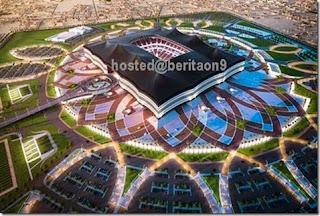Bentuk stadium Piala Dunia 2022 didedahkan