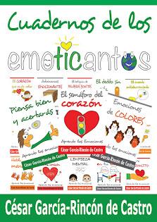 Cuadernos con fichas de los Emoticantos para actividades de aula