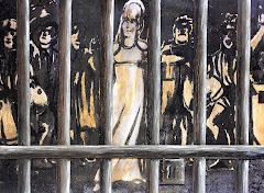 """JUAN CANDÓN. """"El rapto de la Pepa"""". Fotocopia, collage, pintura, 56 x 76 cms."""