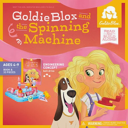 GoldieBlox, Engineering and Building Toys for Girls