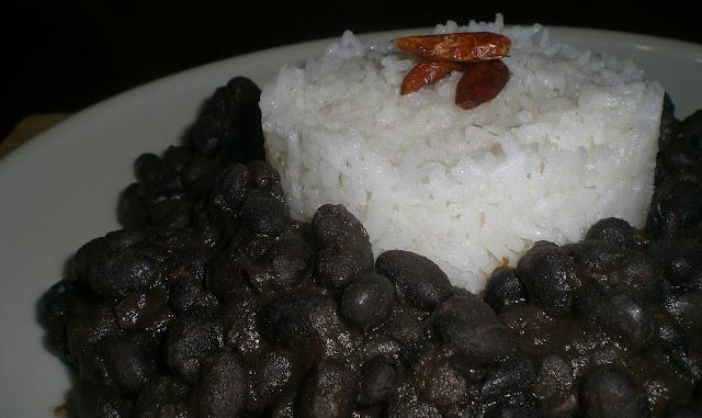 fagioli messicani e riso pilaf