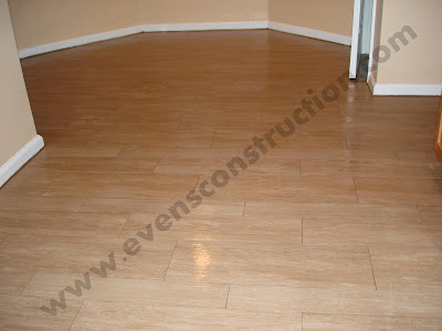 Floor And Inspiring White Wood Door Kitchen Floor Tiles