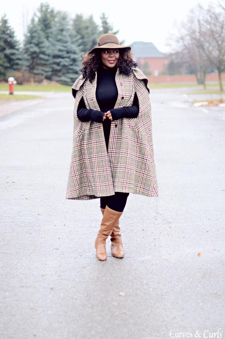 #plussize fashion for women #cape #assacisse #mycurvesandcurls cape coat plus size Vintage Cape
