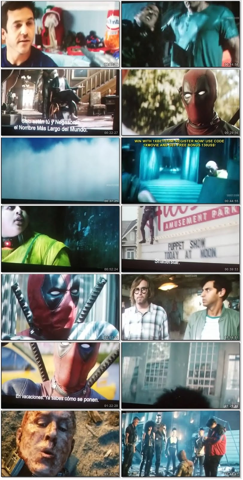 Screenshot Of Watch Online Once Upon A Deadpool (2018) Full Movie Download Free DVDScr HQ