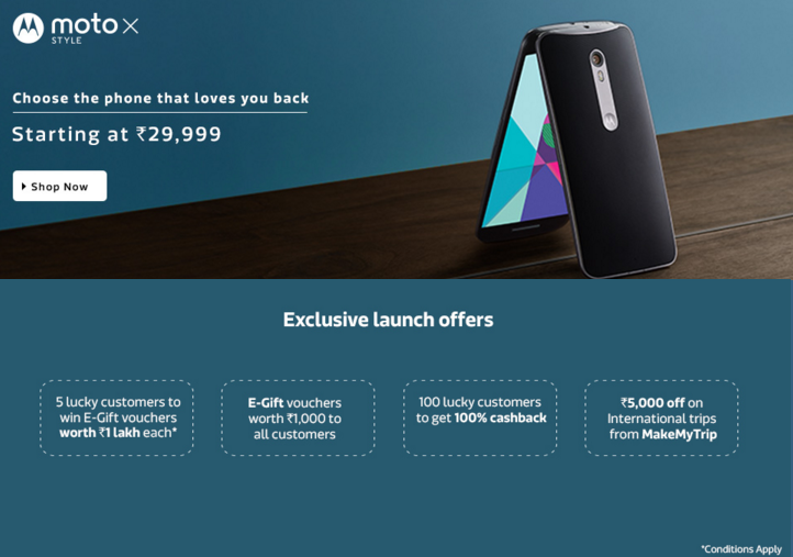 customer analysis on moto x